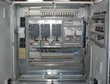 Cabinet of electrical equipment